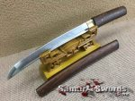 Tanto Knife 1060 Carbon Steel With Rosewood Saya