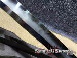 Samurai Katana Sword T10 Folded Clay Tempered Steel Hadori Polish With Full Ray Skin Buffalo Horn Saya