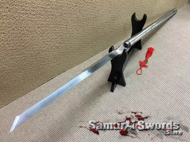 Cane Sword 1060 Carbon Steel With Stainless Steel Saya