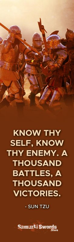 Know thy self