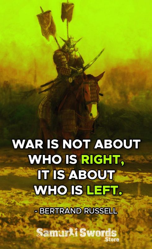 War is not about who is right