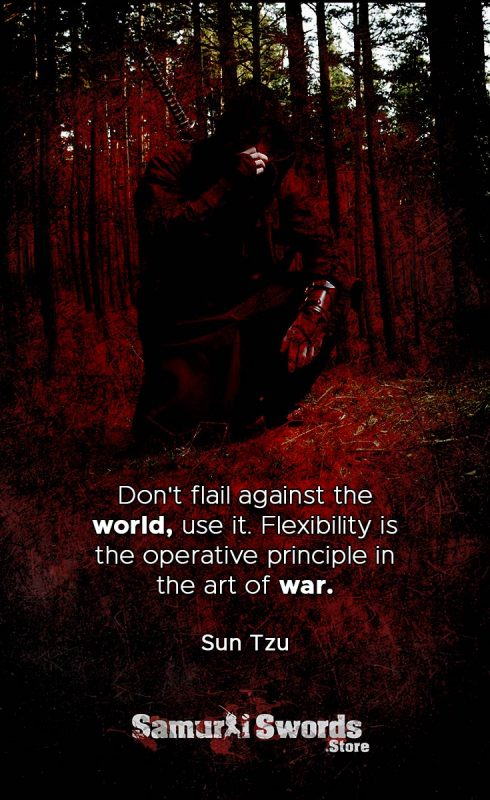 Don't flail against the world