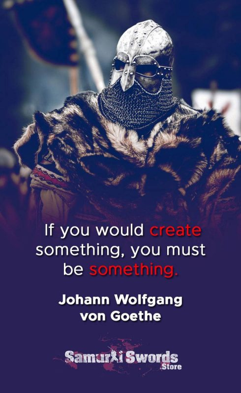 If you would create something