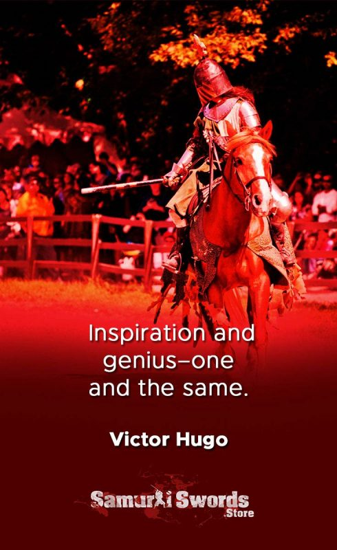 Inspiration and genius one and the same. - Victor Hugo