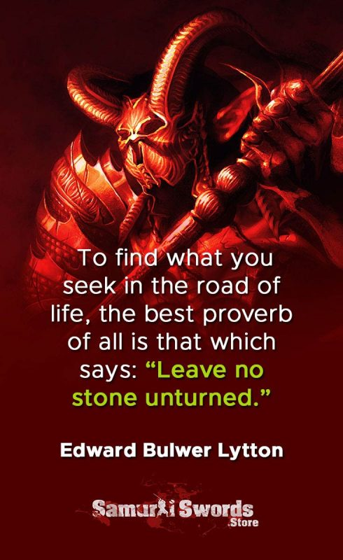 To find what you seek in the road of life